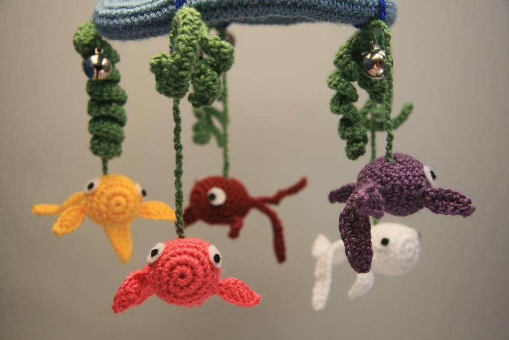 Fantástico Amigurumi Patrones De Crochet Libre De Peces Friso ...