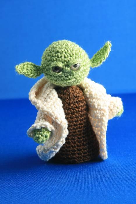 Amigurumi YODA (Star Wars). Gran Maestro de la Orden Jedi ... | 700x467