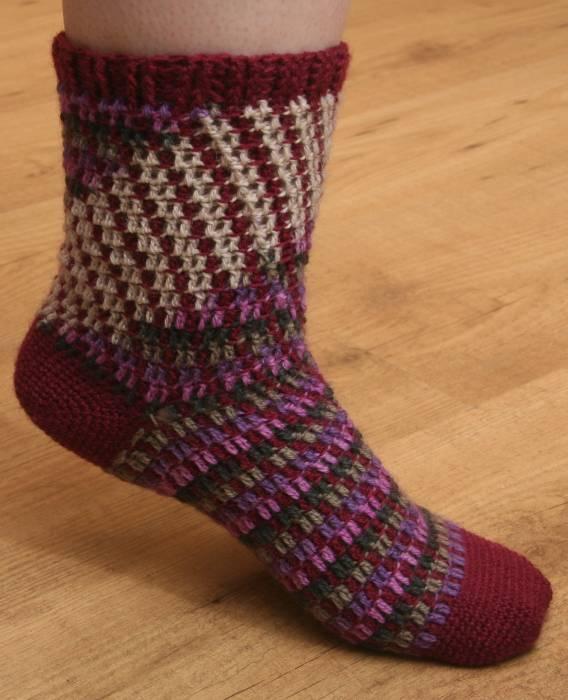 Calcetines Gilb   Crochet   Lana   Complementos, Otros   Abejitas ...
