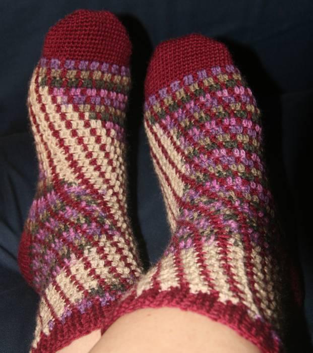 Calcetines Gilb | Crochet | Lana | Complementos, Otros | Abejitas ...