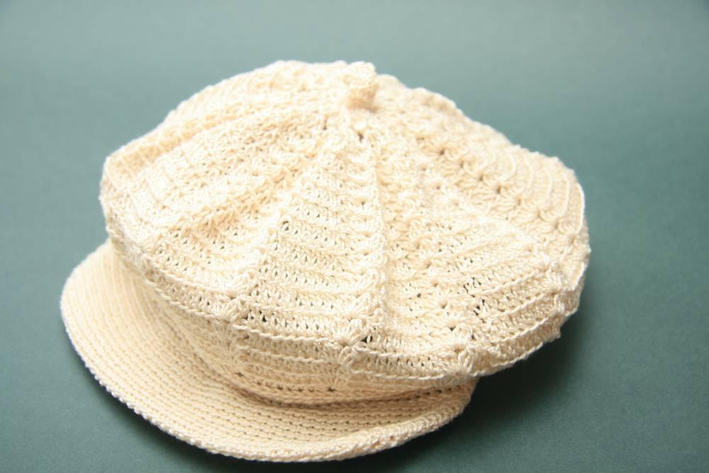 Gorra-boina | Crochet | Algodón | Complementos | Abejitas | Un panal ...