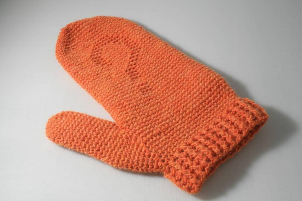 Hermosa Crochet Patrón Manopla Bandera - Ideas de Patrones de ...