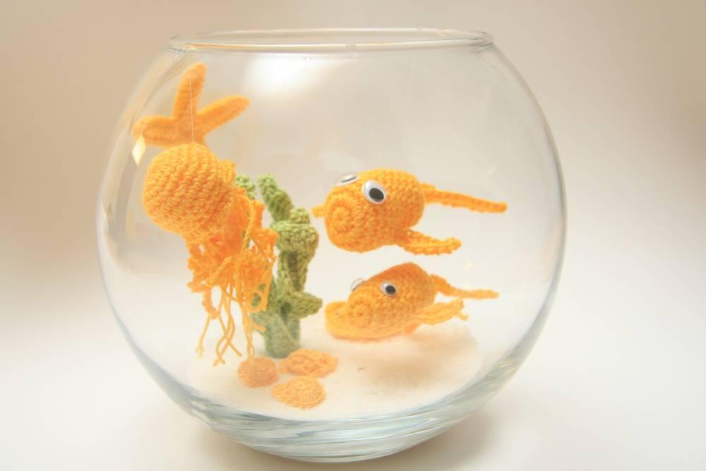 Pecera | Crochet, Amigurumi | Acrílico, Cristal, Plástico ...