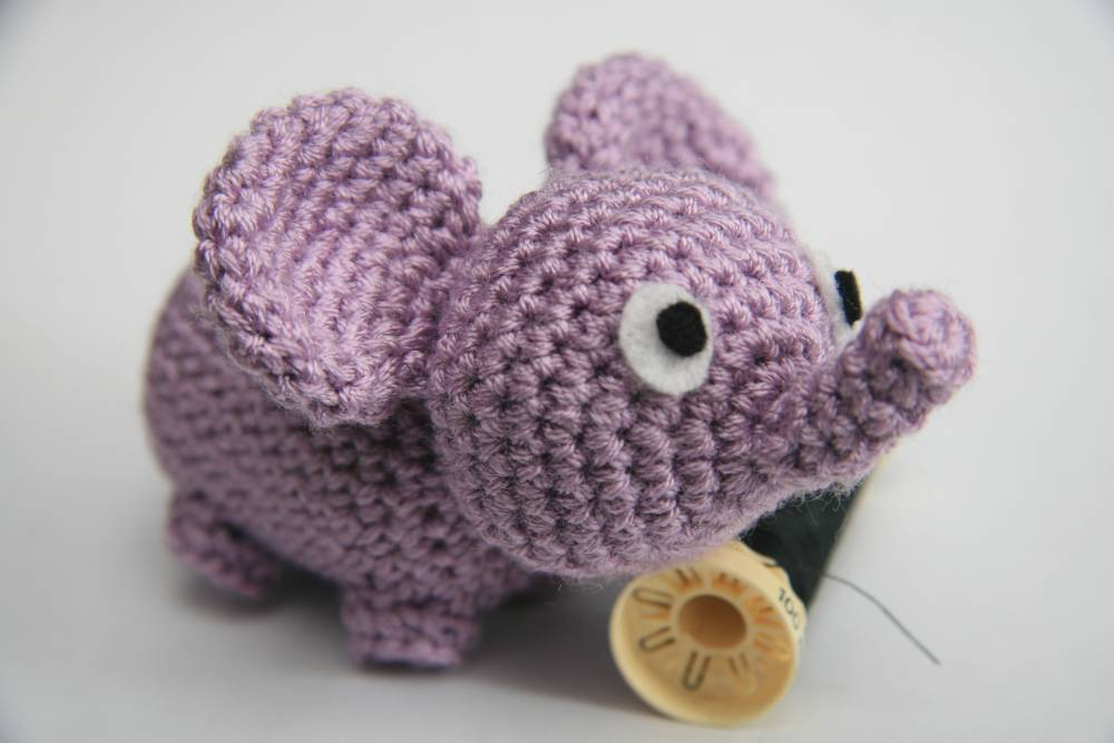 Sonajero Elefante Crochet Amigurumi Bebé - $ 688,00 en Mercado Libre | 667x1000