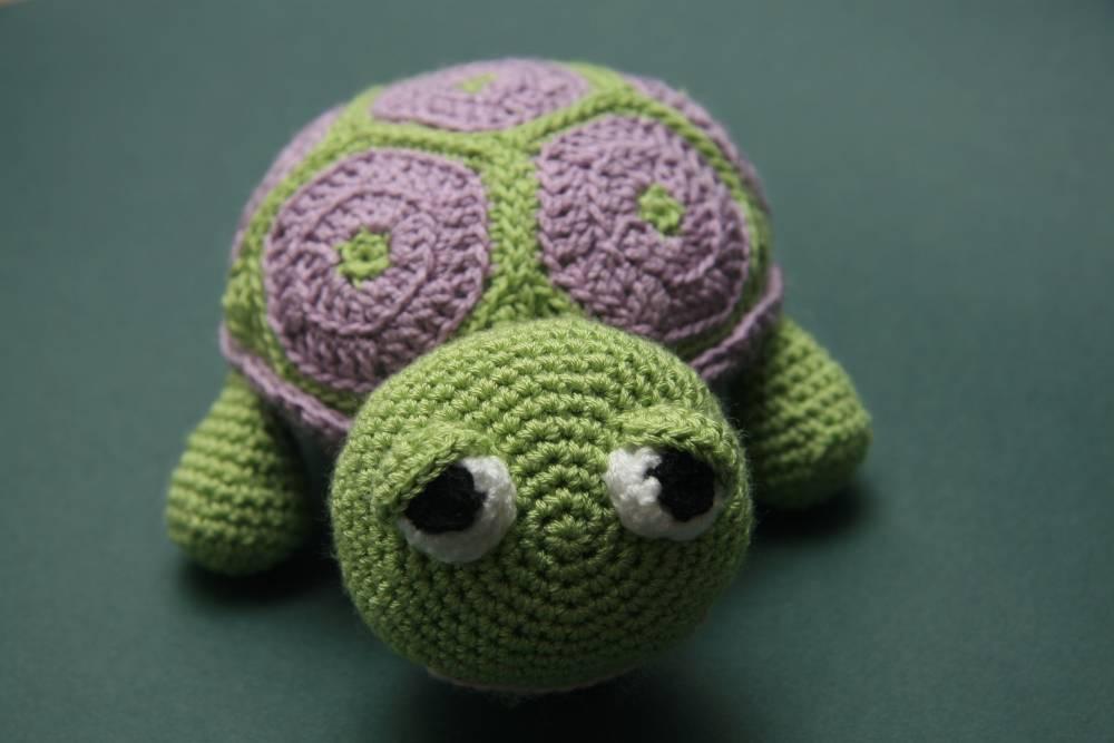 Tortuga adormilada   Crochet, Amigurumi   Acrílico, Algodón ...