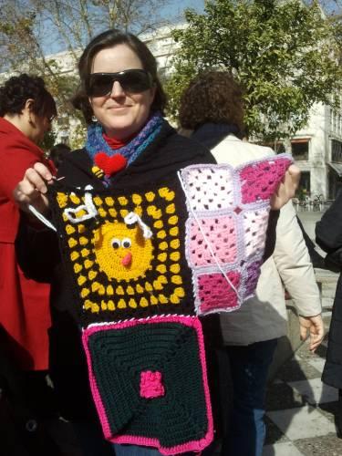 Aportaciones. Urban Knitting Sevilla. Febreo 2013