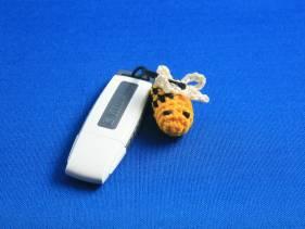 Adorno de abejita para USB