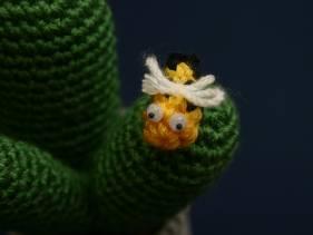 Cactus amigurimi con abejita