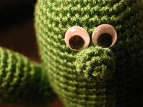 muñeco cactus de crochet