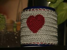 Cubretaza corazón