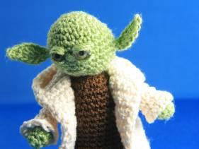 Amigurumi Maestro Yoda