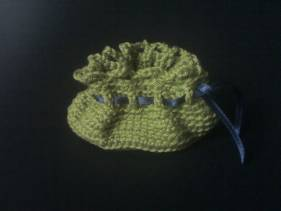 Porta monedas de crochet