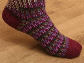 Gilb socks. Crochet (with pattern)