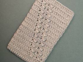 Funda de teléfono móvil de crochet