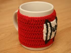 Cubretaza de crochet Duff