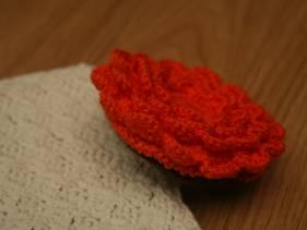 Monedero flamenco en crochet