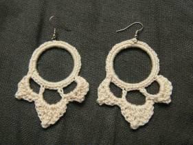 Pendientes de crochet