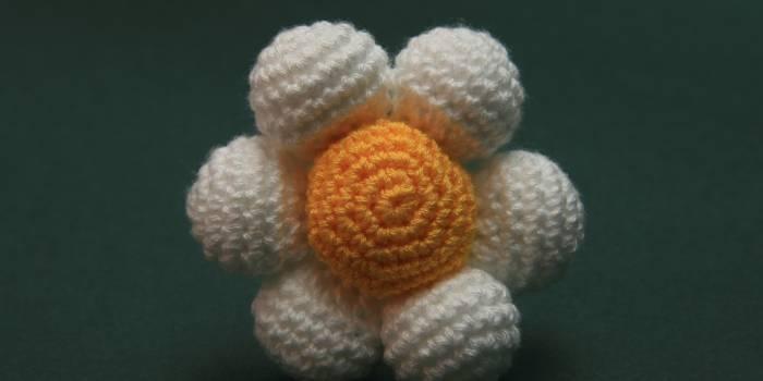 Patrón Flor de bolas amigurumi