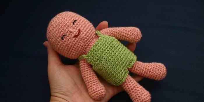 Bebe de crochet