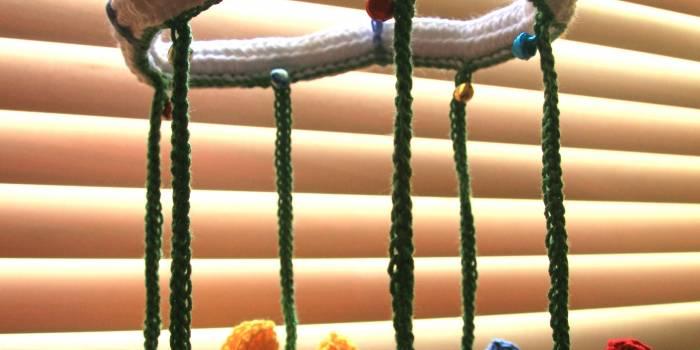 Butterflies crib mobile