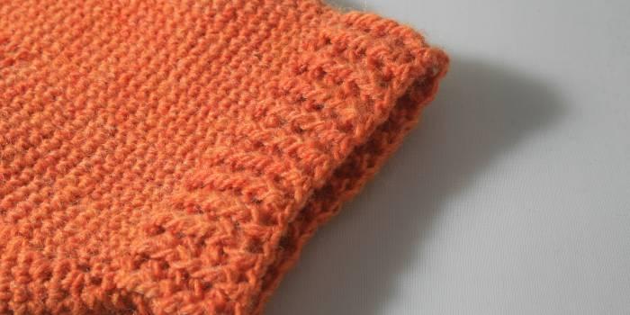 Melitas, warm crochet mittens